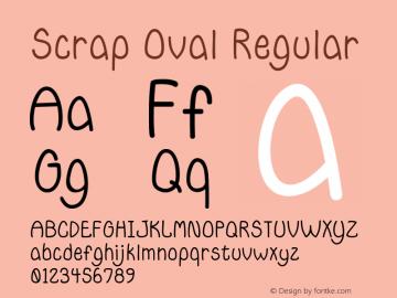 Scrap Oval
