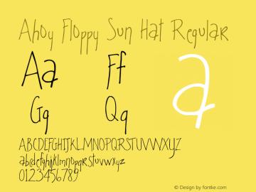 Ahoy Floppy Sun Hat