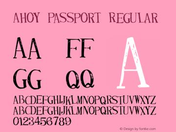 Ahoy Passport