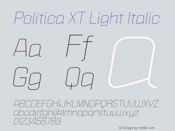 Politica XT Light
