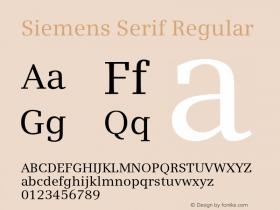 Siemens Serif