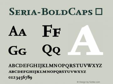 Seria-BoldCaps