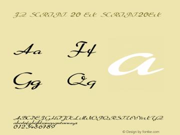 FZ SCRIPT 20 EX