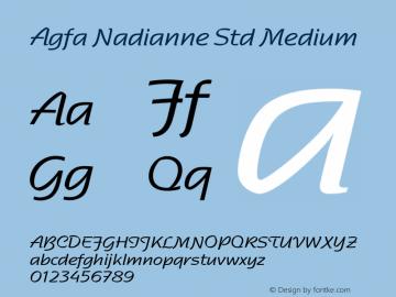 Agfa Nadianne Std