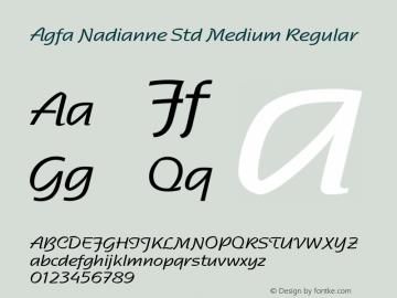 Agfa Nadianne Std Medium