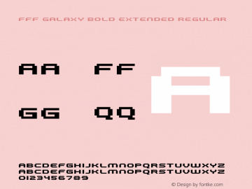 FFF Galaxy Bold Extended