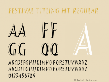 Festival Titling MT
