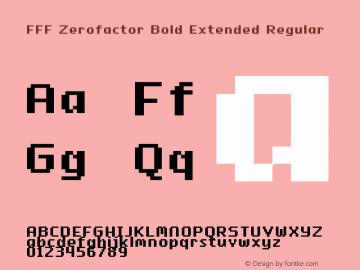 FFF Zerofactor Bold Extended