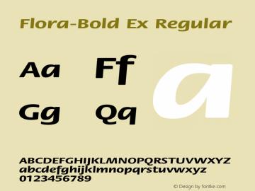 Flora-Bold Ex