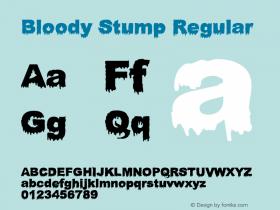Bloody Stump
