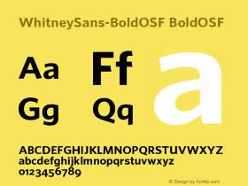 WhitneySans-BoldOSF