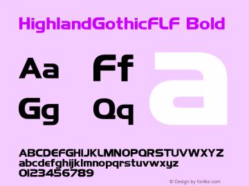 HighlandGothicFLF