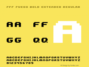 FFF Fuego Bold Extended