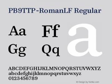 PB9TTP-RomanLF