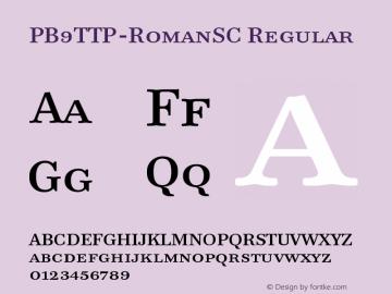 PB9TTP-RomanSC