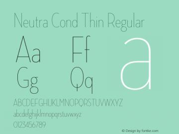 Neutra Cond Thin