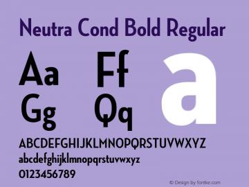 Neutra Cond Bold