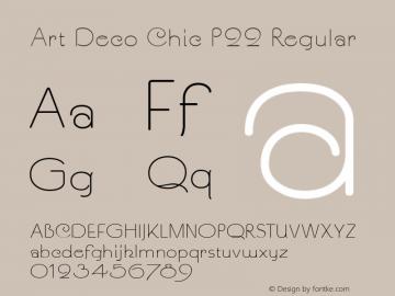 Art Deco Chic P22