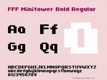 FFF Minitower Bold