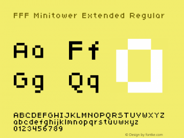 FFF Minitower Extended