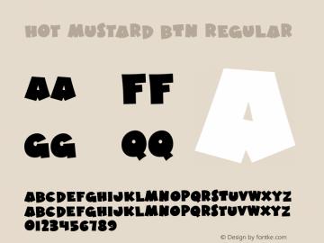 Hot Mustard BTN