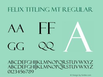 Felix Titling MT