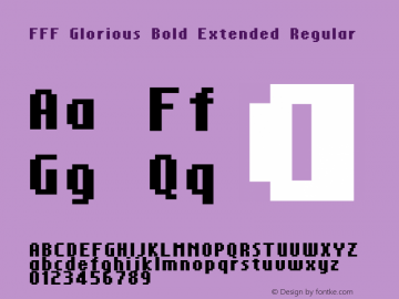 FFF Glorious Bold Extended