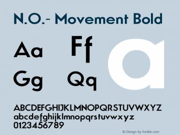 N.O.- Movement