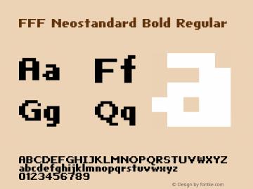 FFF Neostandard Bold