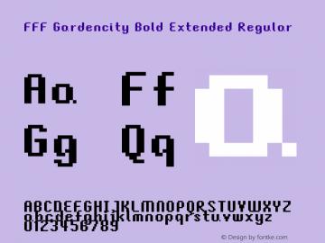 FFF Gardencity Bold Extended