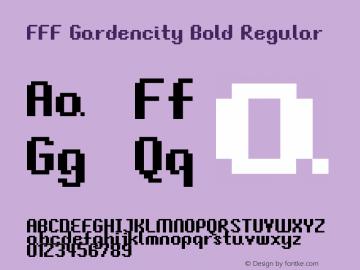 FFF Gardencity Bold