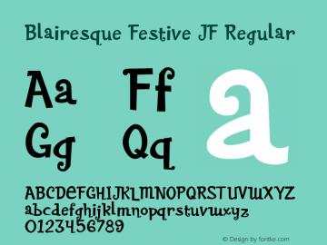 Blairesque Festive JF