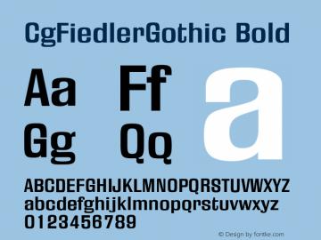 CgFiedlerGothic