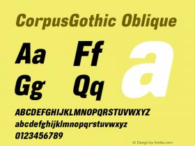 CorpusGothic