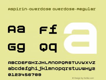 Aspirin-Overdose