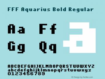 FFF Aquarius Bold