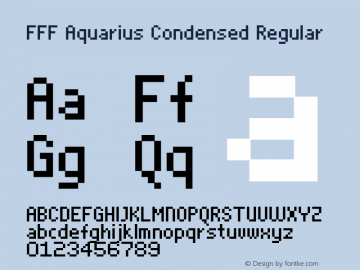 FFF Aquarius Condensed