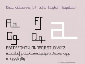 BousniCarre LT Std Light