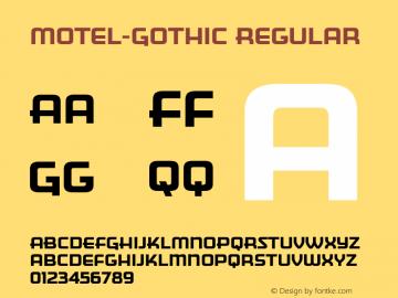 Motel-Gothic