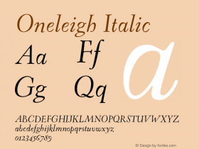 Oneleigh