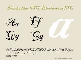 Blackadder ITC
