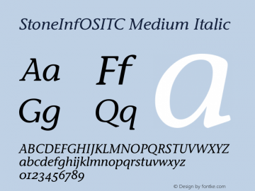 StoneInfOSITC