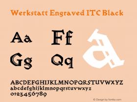 Werkstatt Engraved ITC