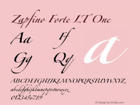 Zapfino Forte LT