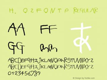 H.OzFontP