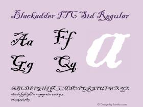 Blackadder ITC Std