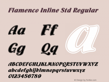 Flamenco Inline Std