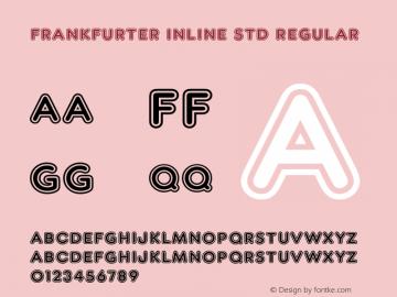 Frankfurter Inline Std