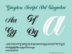 Greyton Script Std
