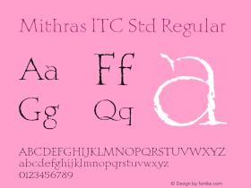 Mithras ITC Std